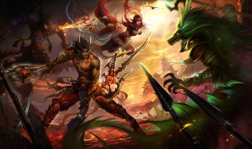 其中朱雀圣兽在《传奇世界2》中成为朱雀族妖士的先祖.